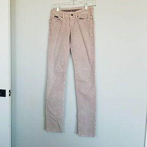Dolce & Gabbana pink skinny jeans